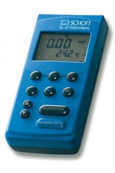 Medidor de Oxígeno con Funciones GLP Handylab OX 12