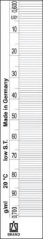 Densímetro Standard - Escala 0.001g/cm3 - Longitud 300 mm