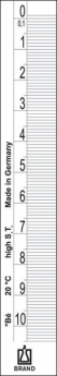Densímetro según Baumé