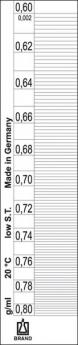Densímetro Standard con/sin Termómetro