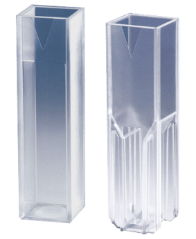 Cubetas-UV macro y semimicro